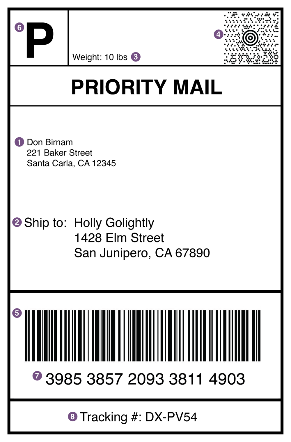 TFL_012_MISC - Shipping Label Example-1